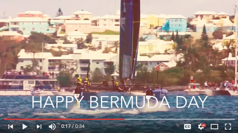#AmericasCup #Bermudaday Tribute @americascup @ArtemisRacing @Cupinfo